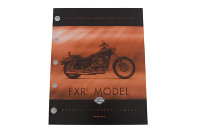 Factory Spare Parts Book for 1999 FXR (Stock 2)