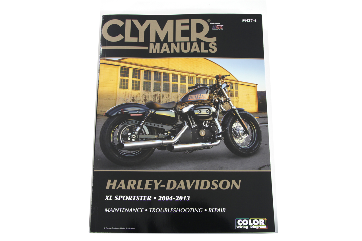 Clymer Repair Manual for 2004-Up XL
