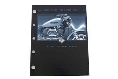 Factory Spare Parts Book for 2001 XL