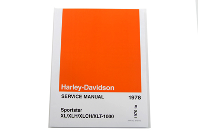 Factory Service Manual for 1970-1978 XL