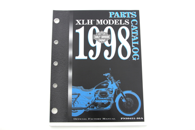 Factory Spare Parts Book for 1998 XL