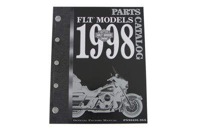 Factory Spare Parts Book for 1998 FLT