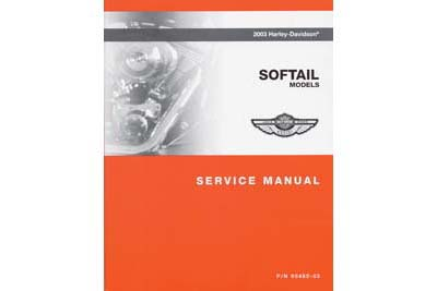 Factory Service Manual for 2003 FXST-FLST
