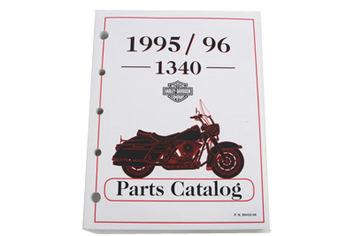 Factory Parts Parts Book for 1995-1996 Big Twin