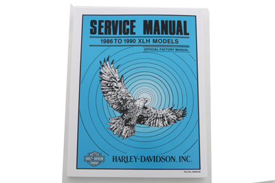 Factory Service Manual for 1985-1990 XLH