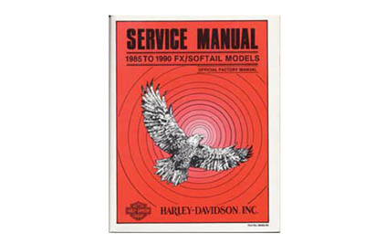 Factory Service Manual for 1985-1990 FXST-FLST