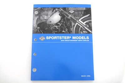 Factory Spare Parts Book for 2009 XL