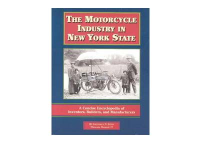 The Motorcycle Industry In New York State Book