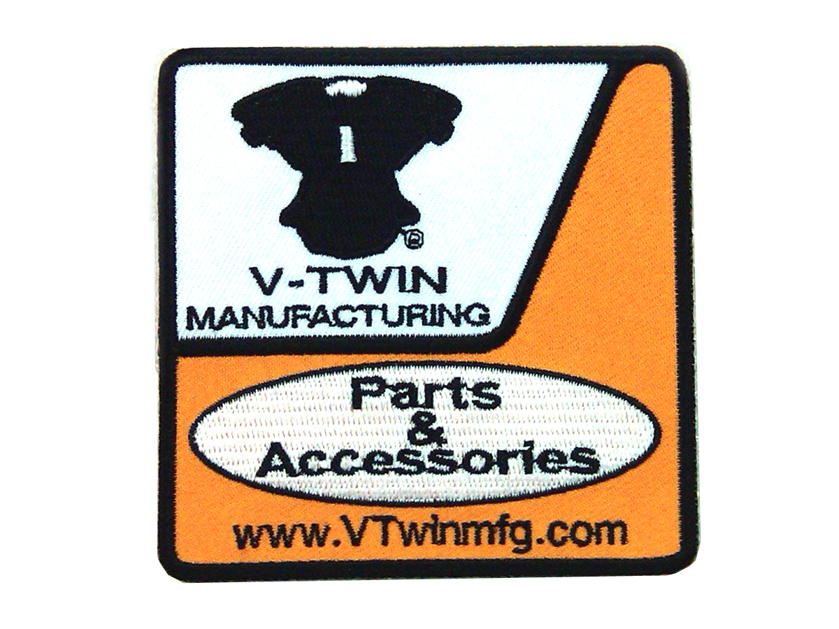 V-Twin Product Sign Patches