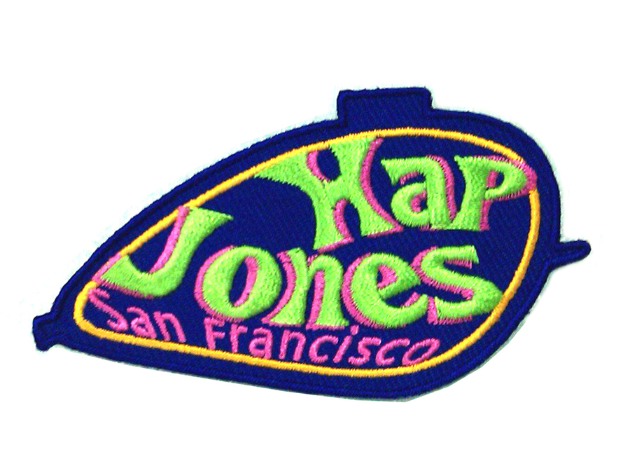 V Hap Jones 50 Years Patches