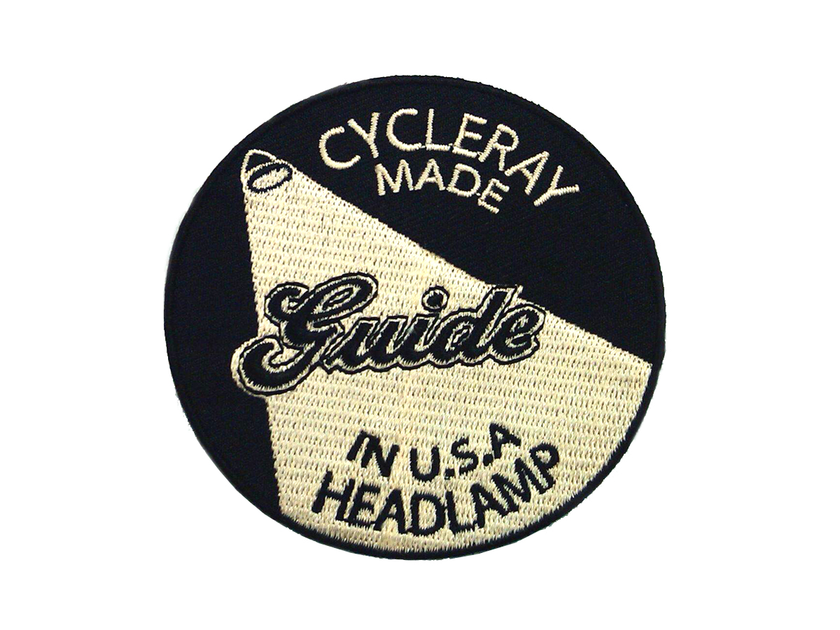Guide Cycle Ray Logo Patches