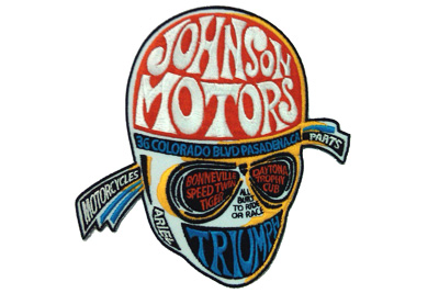 Johnson Motors Indian Triumph Patches