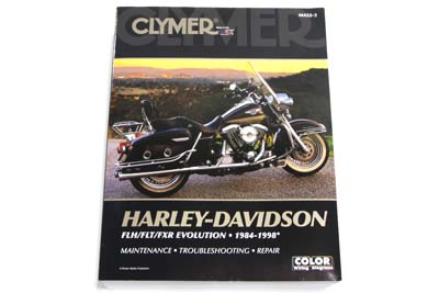 Clymer Repair Manual for 1984-1998 FLT-FXR-FLH