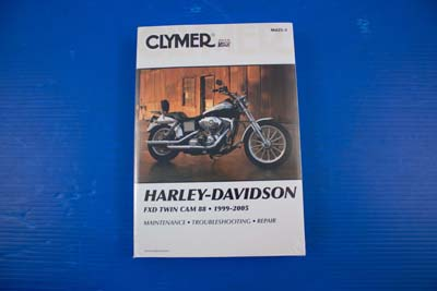 Clymer Service Manual for 1999-2005 FXD