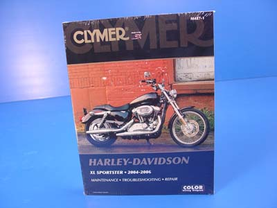 Clymer Repair Manual for 2004-11 XL