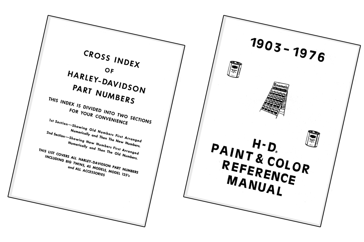 Paint and Number Reference Book