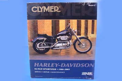 Clymer Repair Manual for 1986-2003 XL