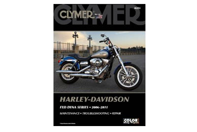 Clymer Repair Manual for 2006-2011 FXD