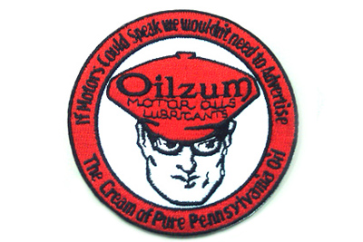 Vintage Style Oilzum Oil Patches