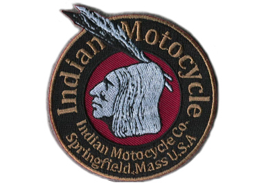 Indian Motorcycle Patch Set
