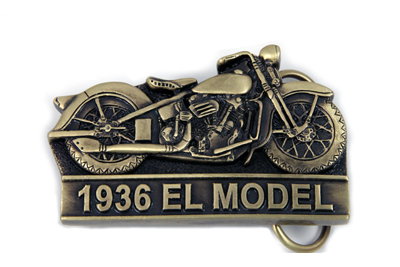 1936 Knucklehead Belt Buckle