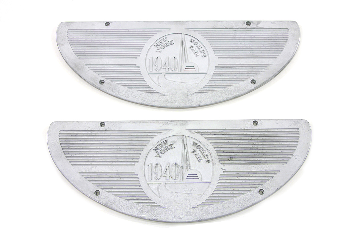 World's Fair 1940 Alloy Footboard Inserts
