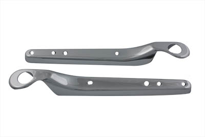 Rear Fender Strut Cover Set Chrome