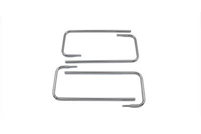 Chrome Saddlebag Rail Set