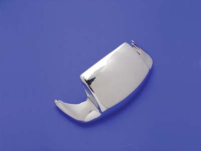 Smooth Chrome Front Fender Tip