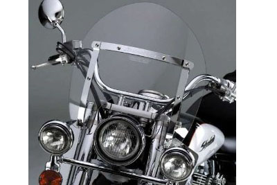 Switchblade Detachable Clear Shorty Windshield