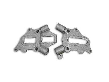 Rear Frame Axle Plate Set