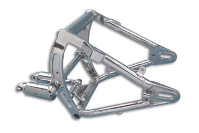 Swingarm and Shock Assembly Chrome