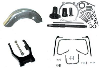 Touring Wide Swingarm Kit