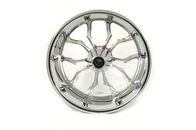 "17"" Billet Rear Wheel 1"" Bearings Included"