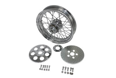 "16"" Rear Wheel Assembly Chrome"