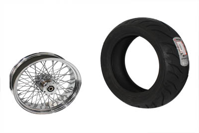 "16"" Tire Kit Chrome"