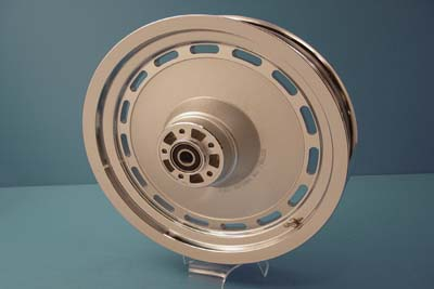 "16"" Rear Cast Wheel Slotted Style Chrome"