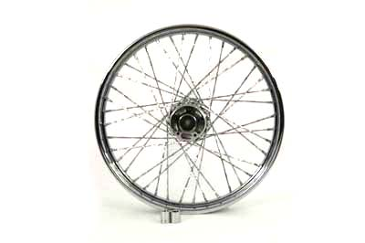 "Front Spoked 21"" Wheel"
