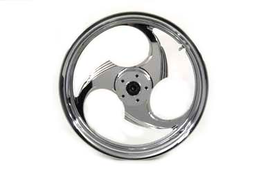 "18"" Rear Forged Alloy Wheel, Chrome Chopper Style"