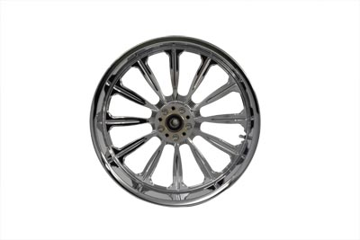 "19"" Front Forged Alloy Wheel, Starburst Style"