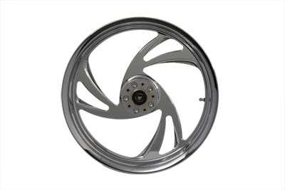 "18"" Front Forged Alloy Wheel, Slash Style"