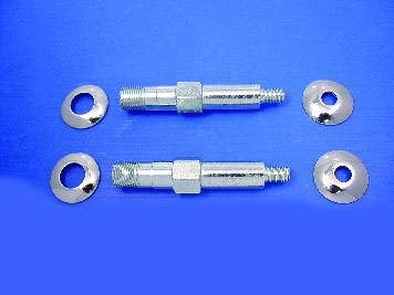 Lower Rear Shock Stud Kit Zinc
