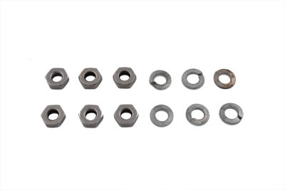 Chrome Stock Oil Pump Nut HD Thread