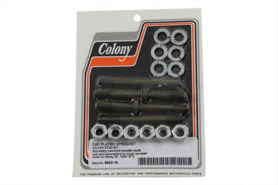 Sprocket Cover Stud, Cadmium