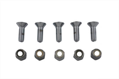 Bolt Screws Chrome Allen