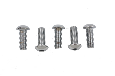 Rear Disc Bolt Kit Allen Style Chrome