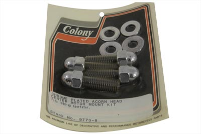 Center Motor Mount Kit Acorn Type